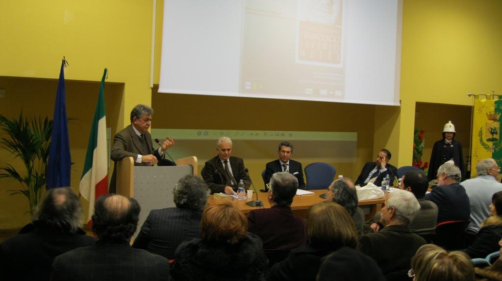 Il Presidente della Fondazione Nitti, Prof. Stefano Rolando