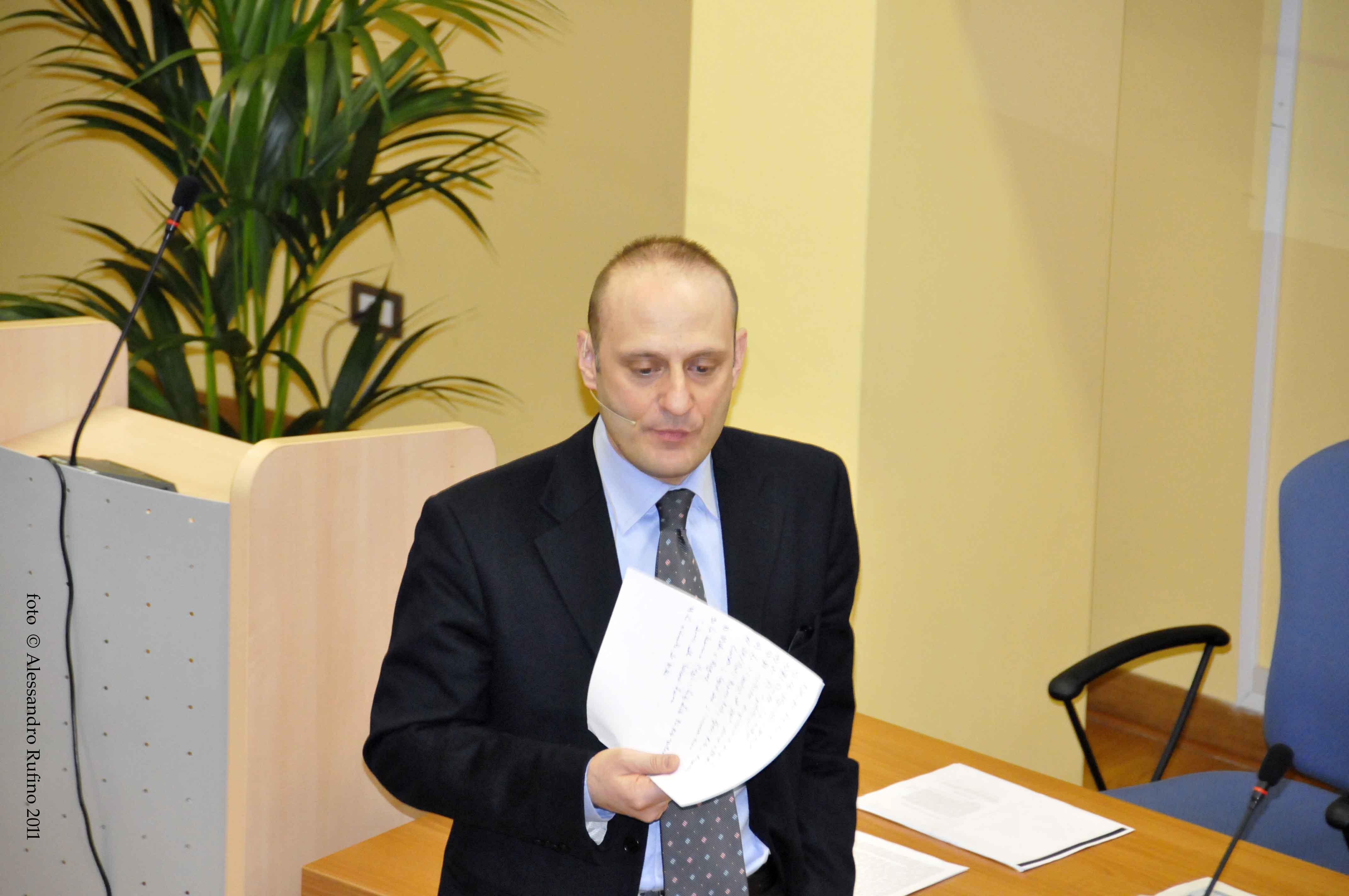 Il dott. Giovanni Vetritto