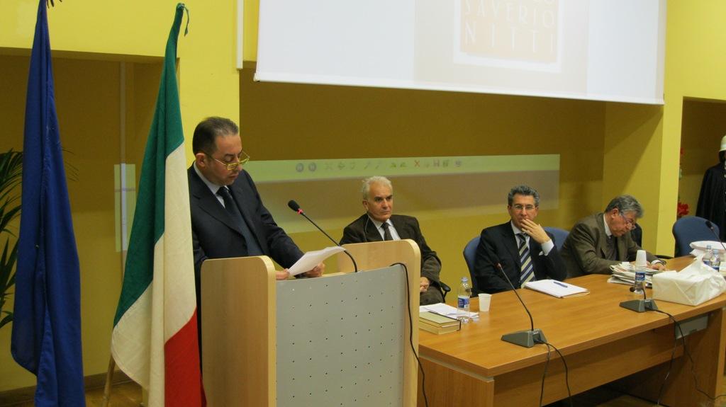 Il vice Presidente del Parlamento Europeo On. Gianni Pittella