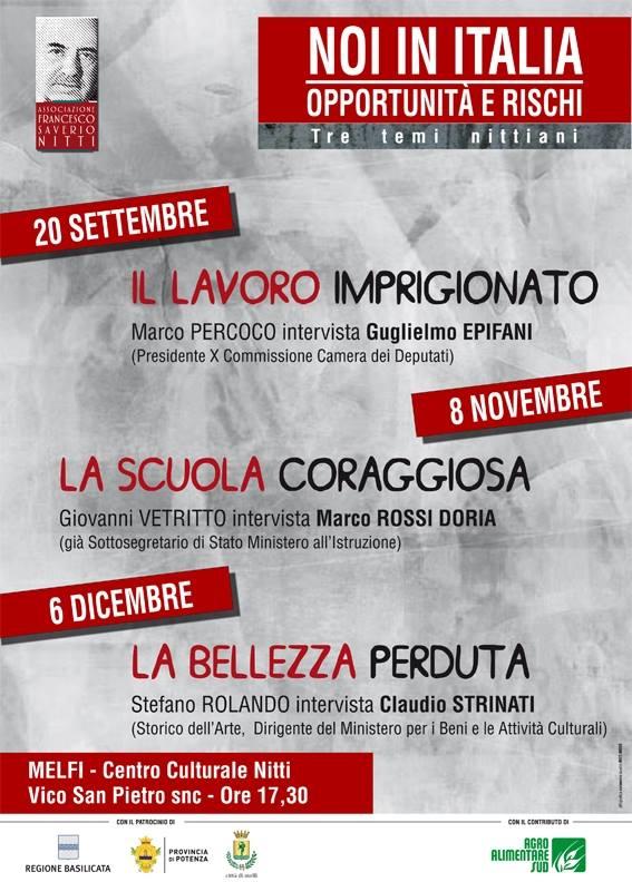 manifesto Noi in Italia
